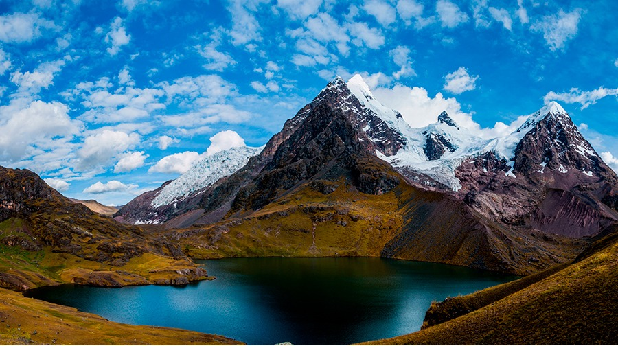 ausangate glacier mountain