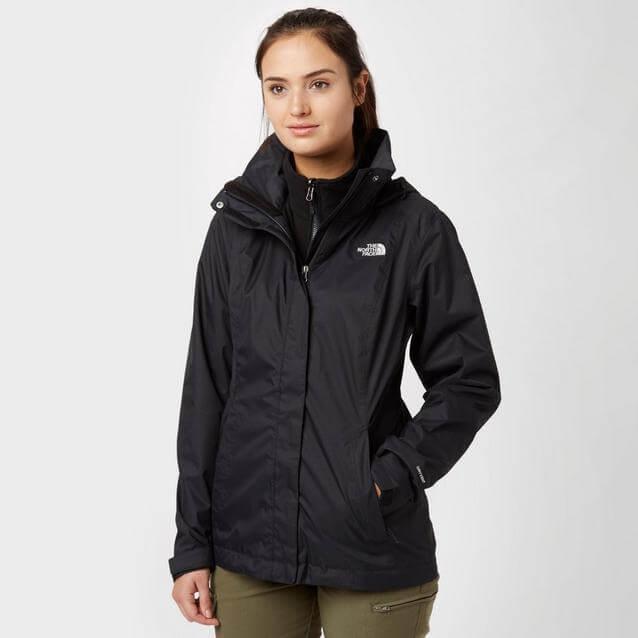 hard shell jacket and rain gear